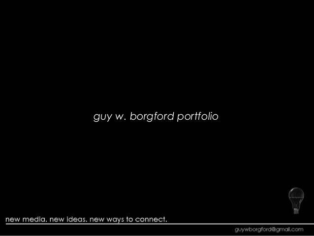 guy w. borgford portfolio