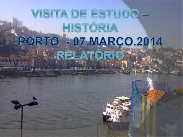  A nossa visita de estudo começou às 8:30h, com saída da escola e com destino ao Porto. Fomos à Igreja de Santa Clara que...
