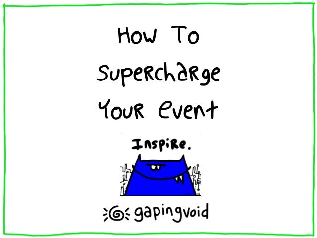 How ToSuperchargeYour Event