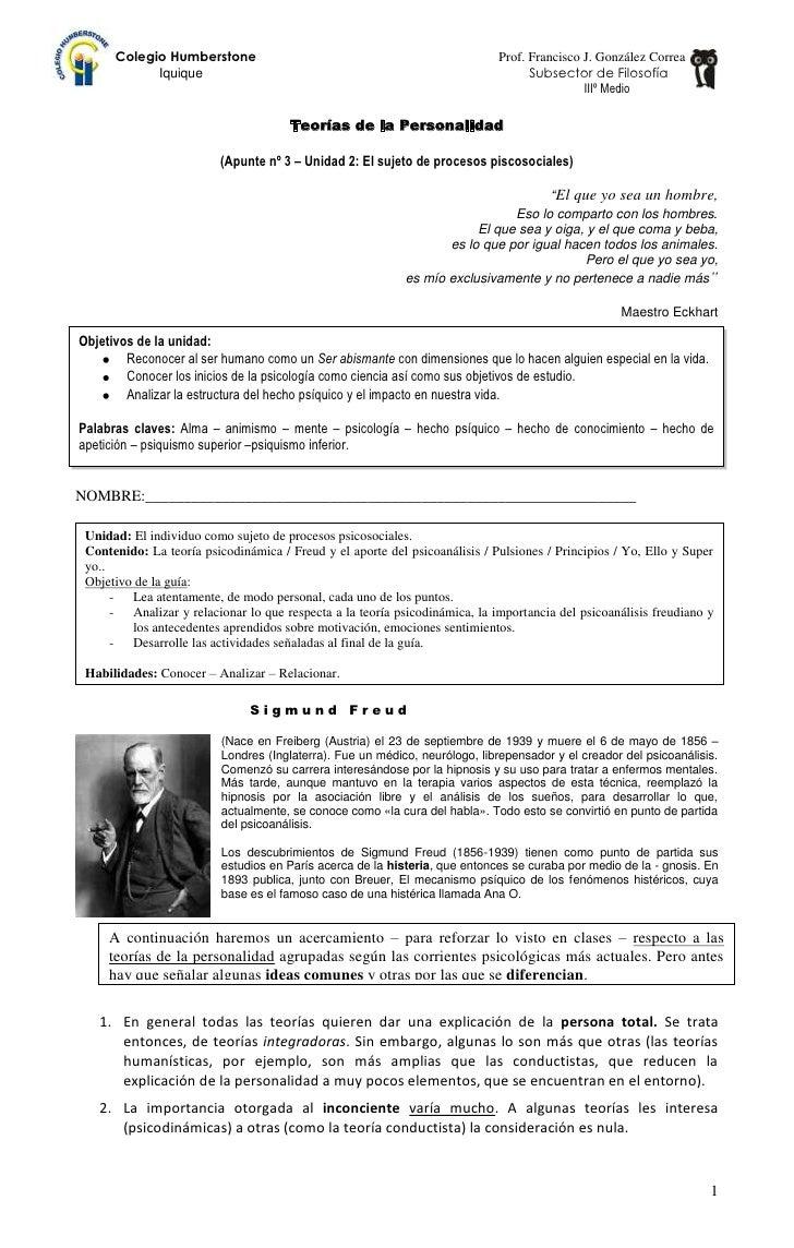 Colegio Humberstone                                                    Prof. Francisco J. González Correa            Iquiq...
