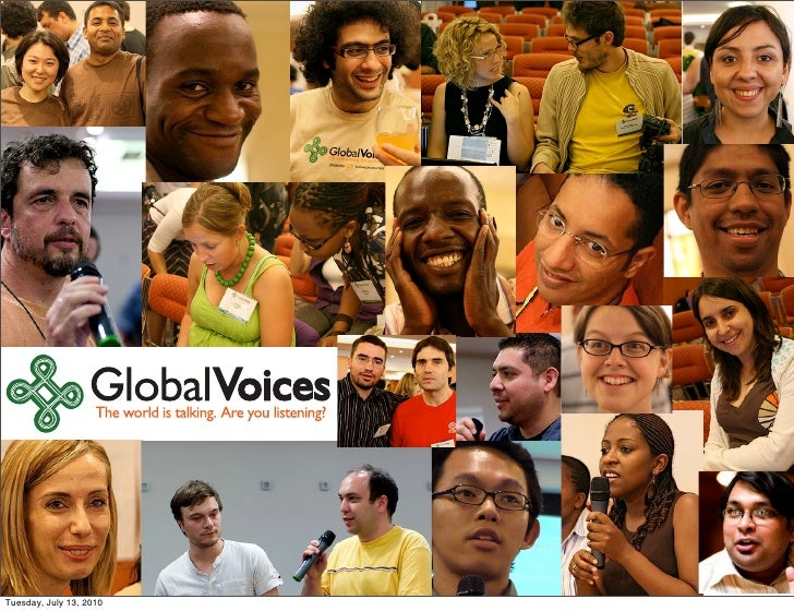 Global Voices organizational overview 2010