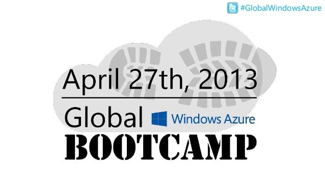 Global Windows Azure Bootcamp - San Diego