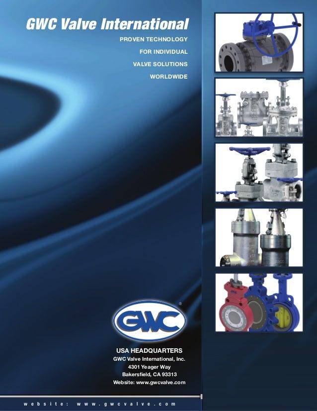 GWC Valve International Brochure