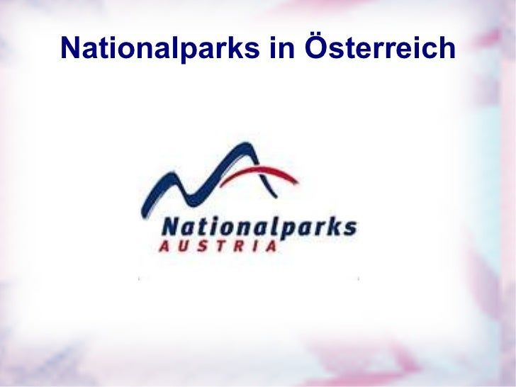Gwk präsentation nationalparks