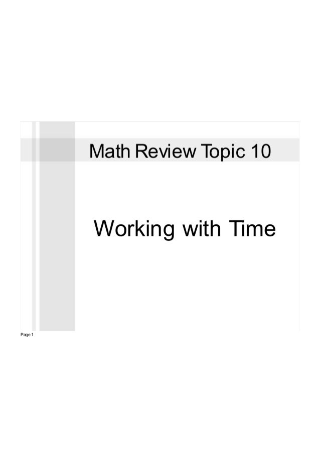 Gwm topic 10 review