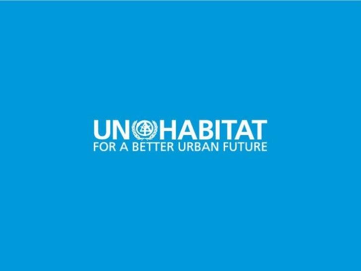 Water Operators Partnerships – Ayudando a los operadores de agua y saneamiento a que se ayuden mutuamente – Tomás López de Bufalá – GWOPA ONU HABITAT