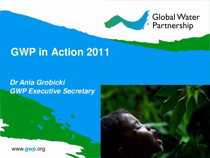 GWP in Action 2011Dr Ania GrobickiGWP Executive Secretary