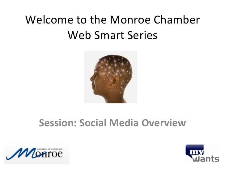 Get Web Smart: Social Media Overview