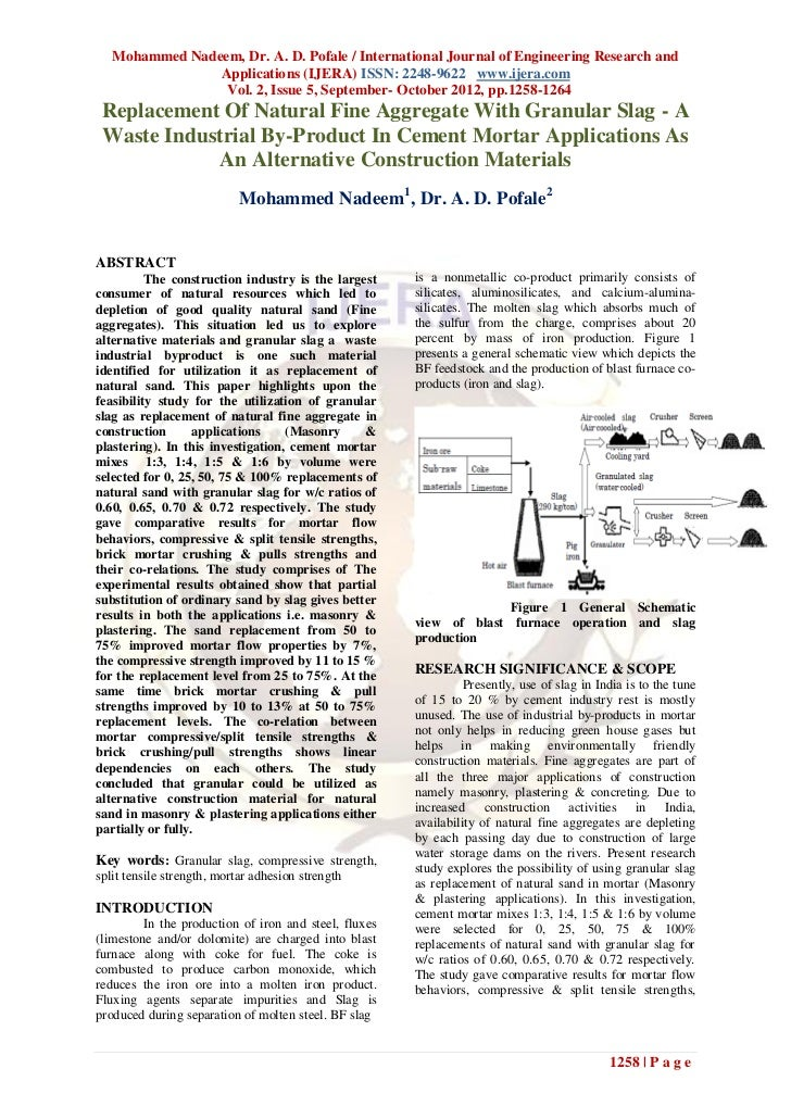 Mohammed Nadeem, Dr. A. D. Pofale / International Journal of Engineering Research and                Applications (IJERA) ...
