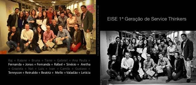 EISE - 1ª Geração de Service Thinkers - Photo Book