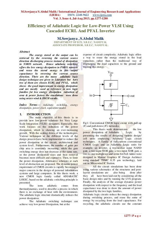 M.Sowjanya, S.Abdul Malik / International Journal of Engineering Research and Applications (IJERA) ISSN: 2248-9622 www.ije...