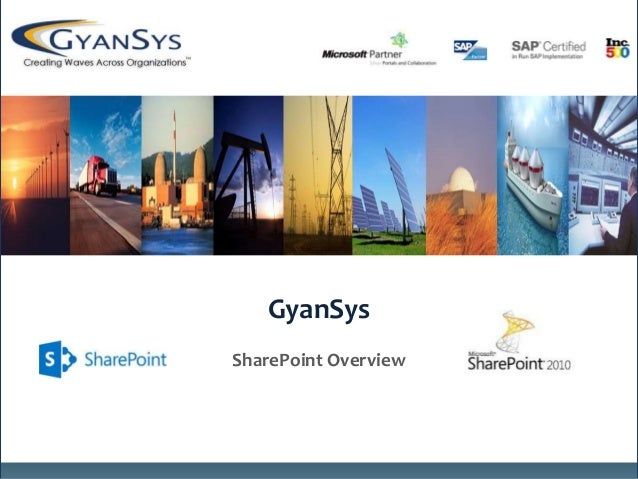 GyanSys SharePoint Overview