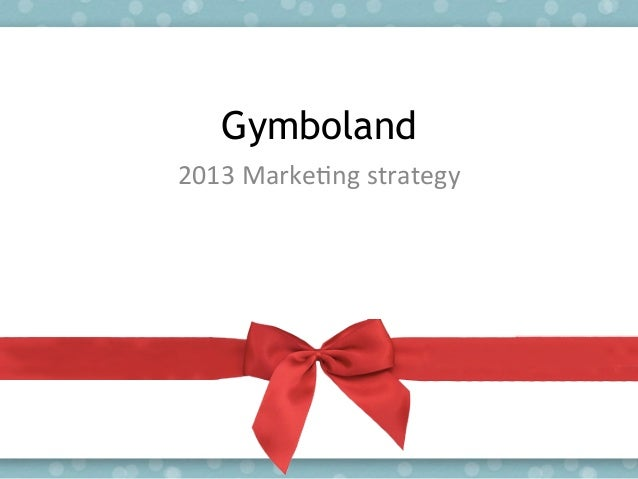 Gymboland marketing