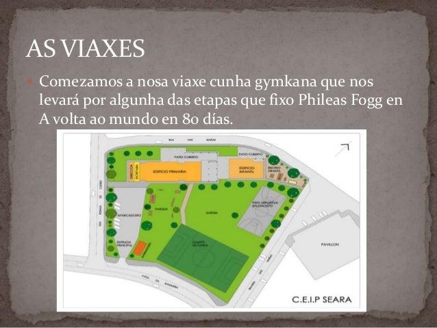 AS VIAXES Comezamos a nosa viaxe cunha gymkana que nos levará por algunha das etapas que fixo Phileas Fogg en A volta ao ...