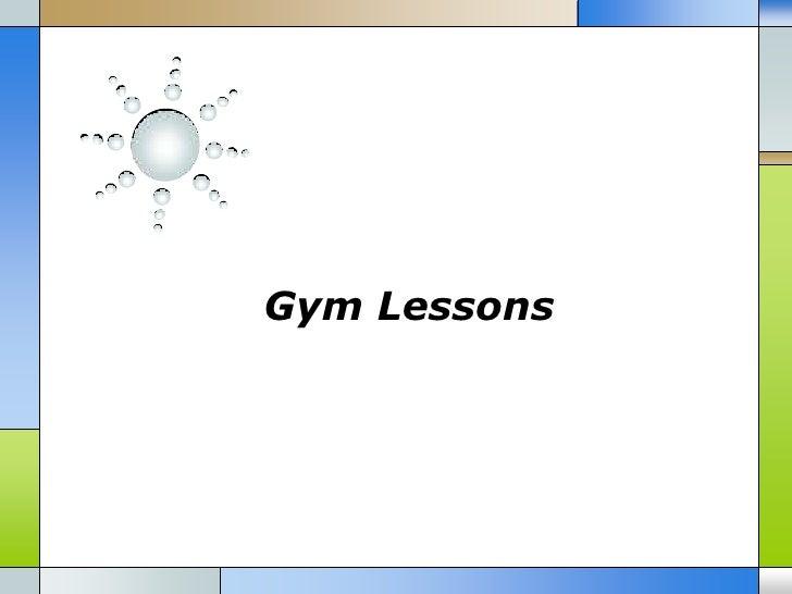 Gym Lessons