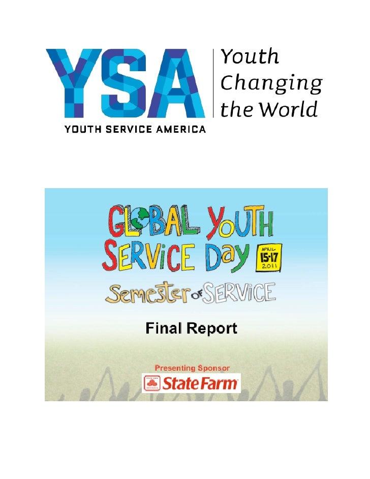 GYSD 2011 Final Report