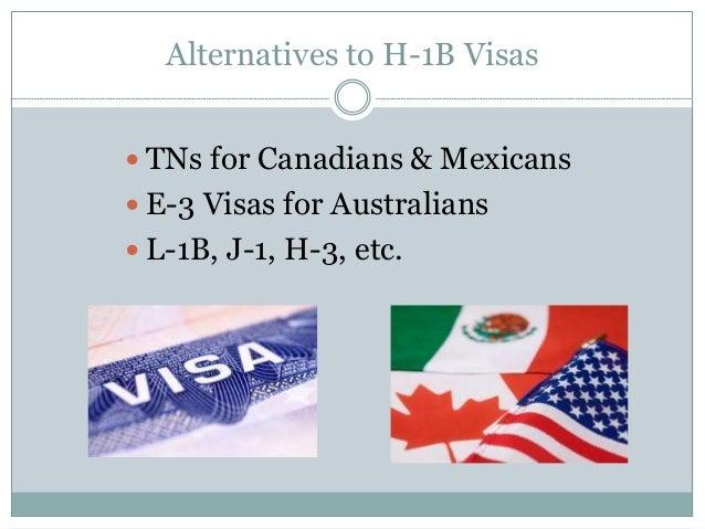 Alternatives to H-1B Visas H 1b Temporary