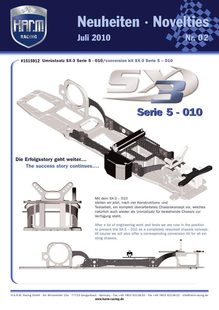 Harm conversion kit SX-3 Serie 5