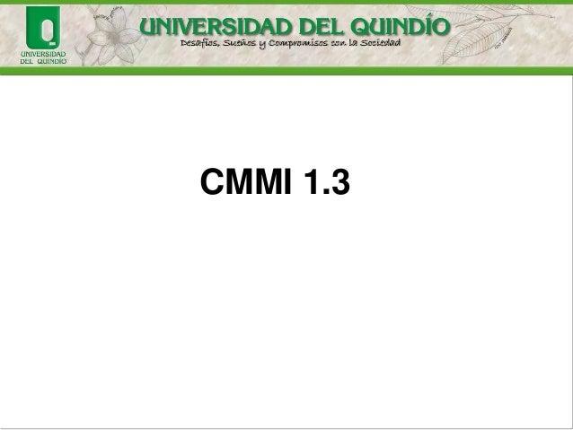 CMMI 1.3