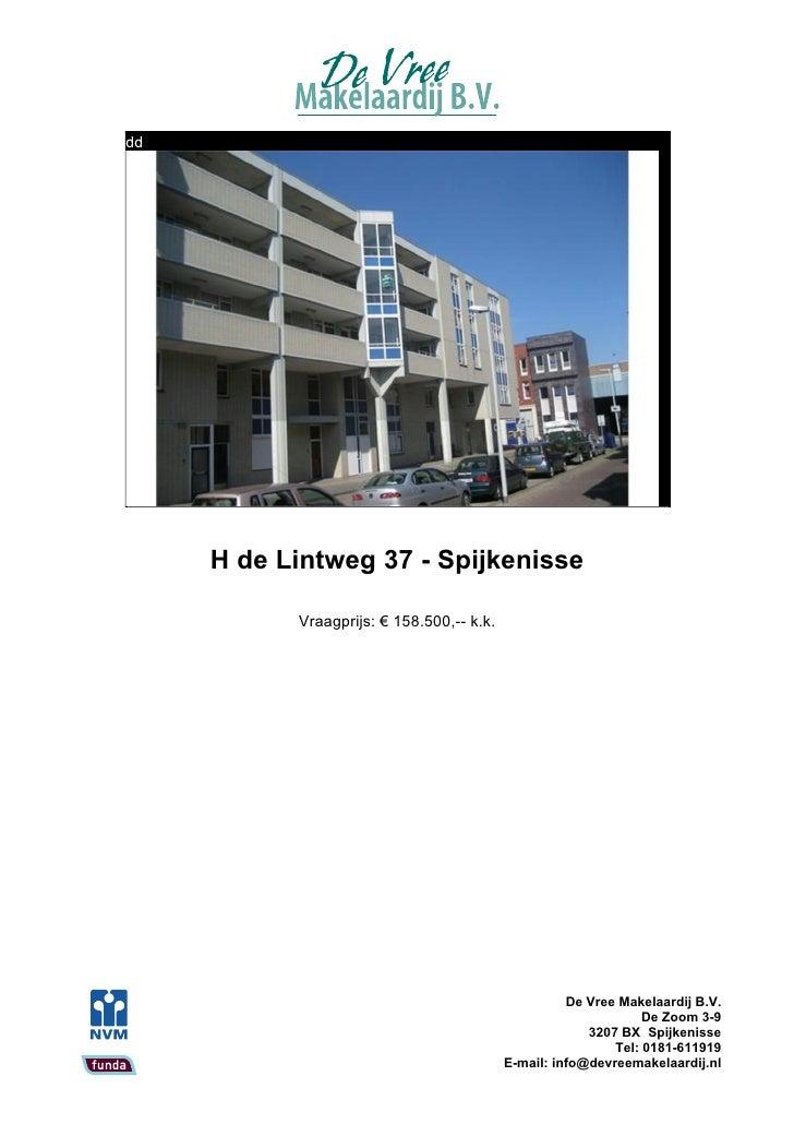 H. De Lintweg 37