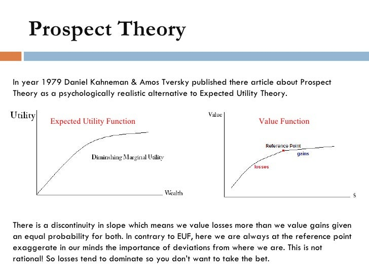 importance of prospect theory pdf
