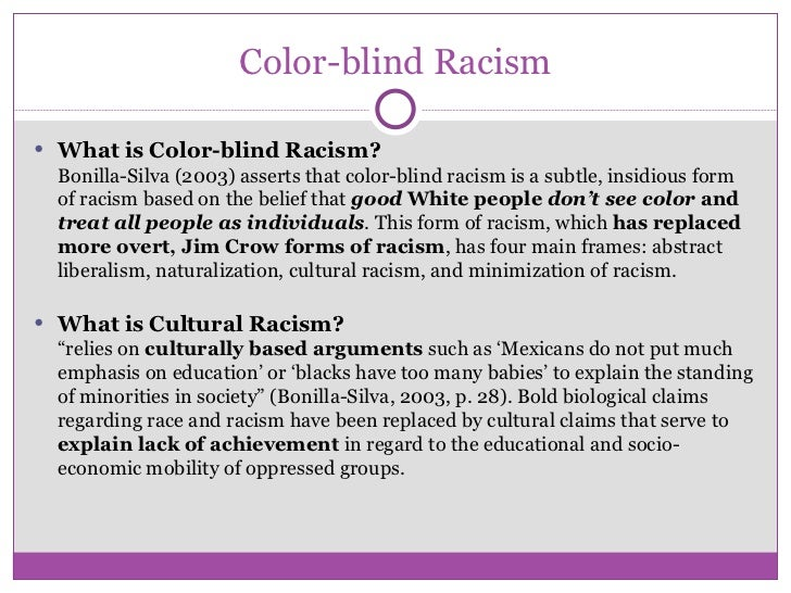 racial discrimination essay examples