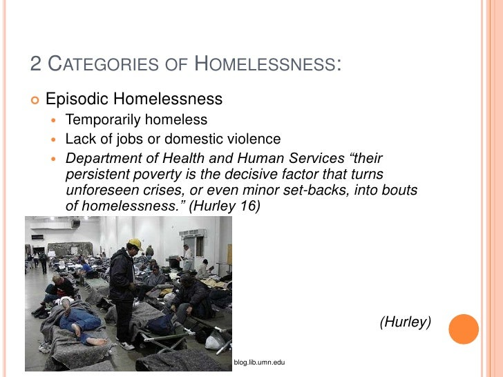 Thesis Statement For Homelessness