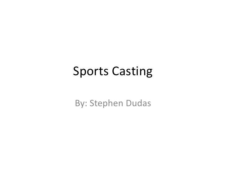 Sgp Powerpoint Sportscasting