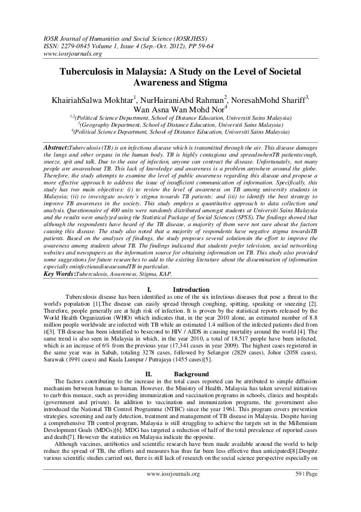 IOSR Journal of Humanities and Social Science (IOSRJHSS)ISSN: 2279-0845 Volume 1, Issue 4 (Sep.-Oct. 2012), PP 59-64www.io...