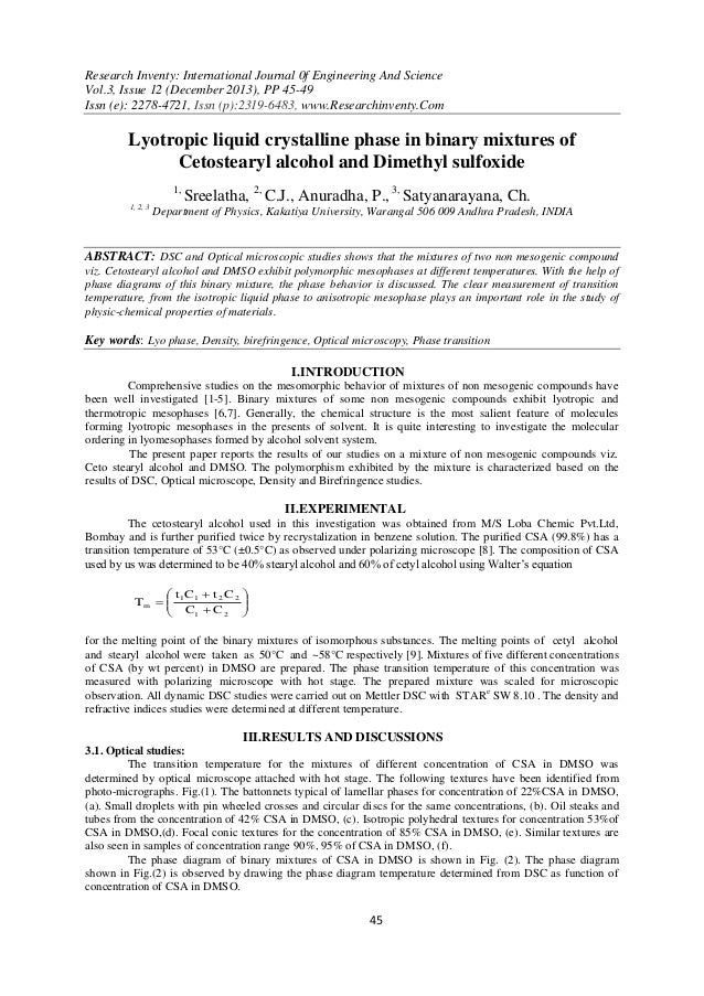 Research Inventy: International Journal 0f Engineering And Science Vol.3, Issue 12 (December 2013), PP 45-49 Issn (e): 227...
