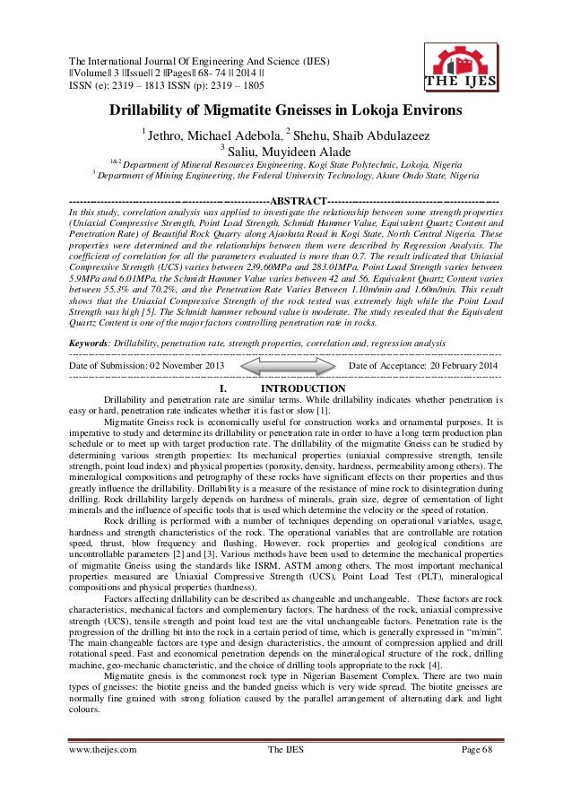 The International Journal Of Engineering And Science (IJES) ||Volume|| 3 ||Issue|| 2 ||Pages|| 68- 74 || 2014 || ISSN (e):...