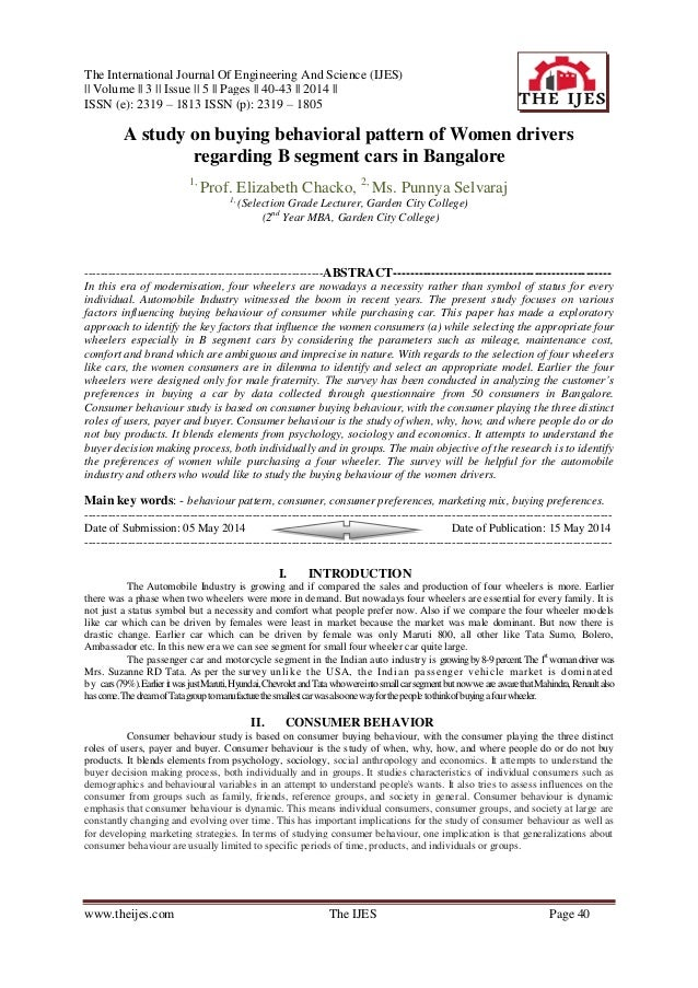 The International Journal Of Engineering And Science (IJES) || Volume || 3 || Issue || 5 || Pages || 40-43 || 2014 || ISSN...