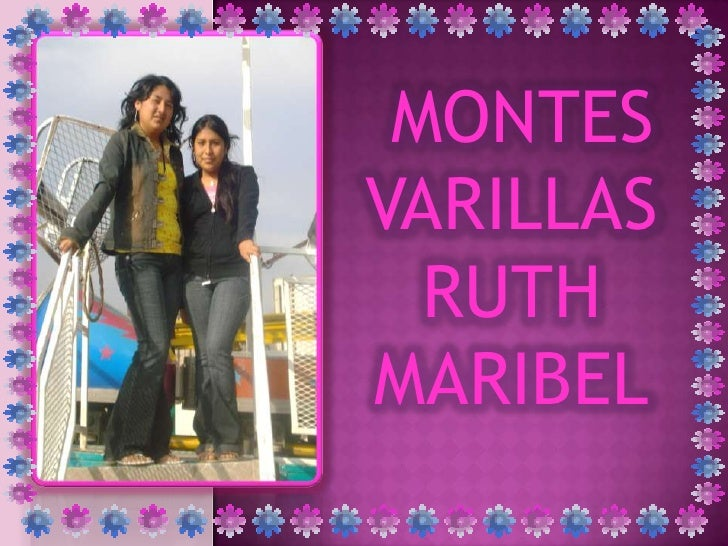 MONTES VARILLAS   RUTH MARIBEL