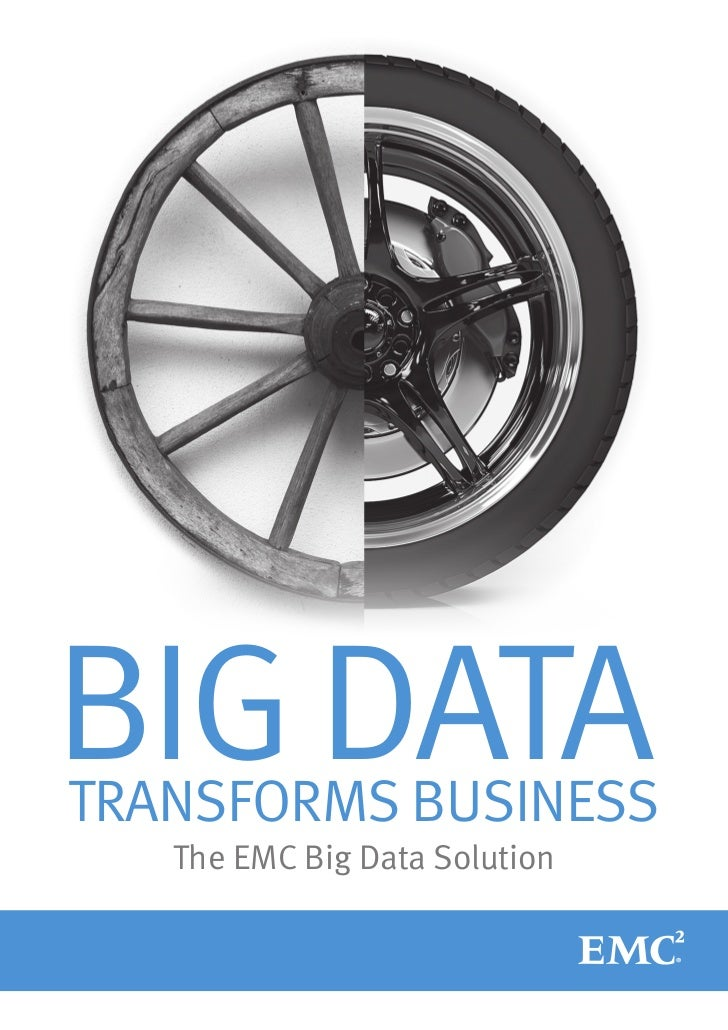 Brochure : The EMC Big Data Solution