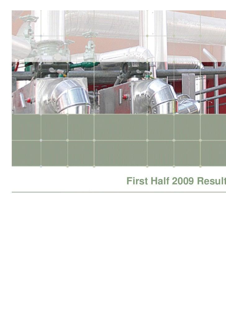 H1 2009 Hera Group analyst