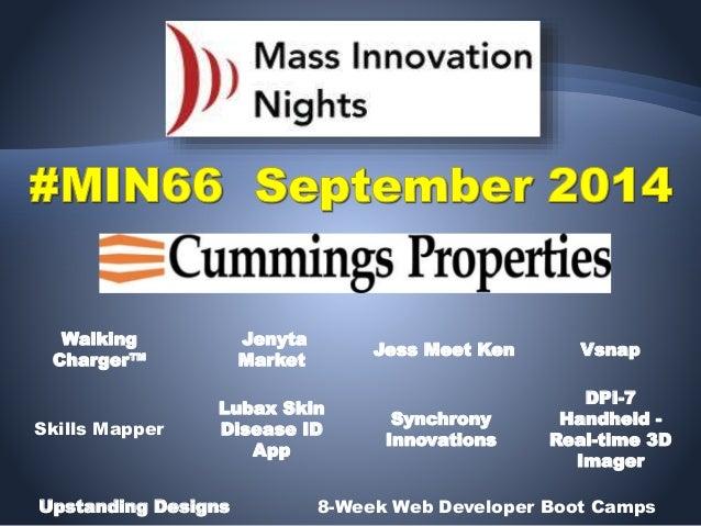#MIN66 event slideshow