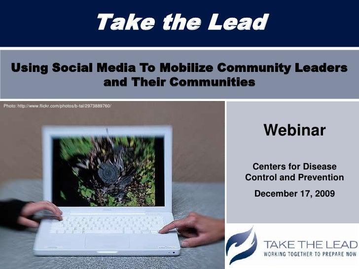 Take the Lead Social Media Webinar Slides
