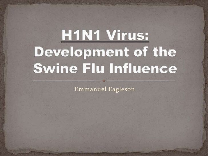 Emmanuel Eagleson<br />H1N1 Virus:  Development of the Swine Flu Influence<br />