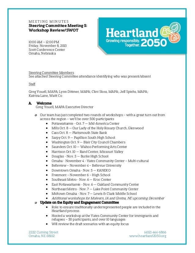 Steering Committee-Minutes-Nov2013