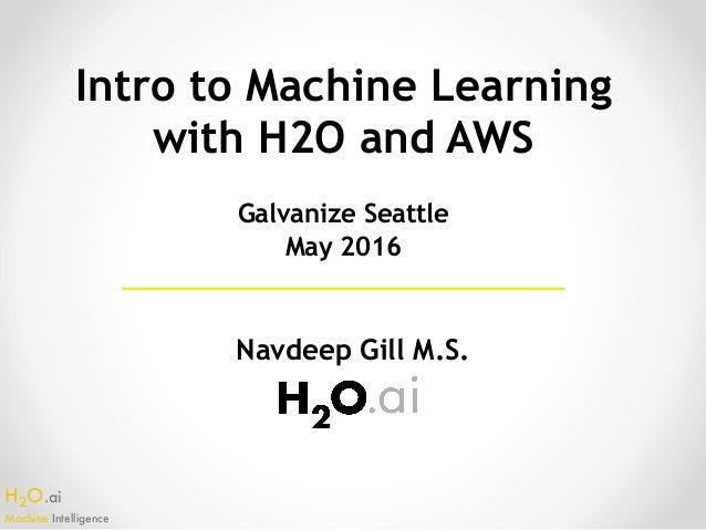 h2o machine learning