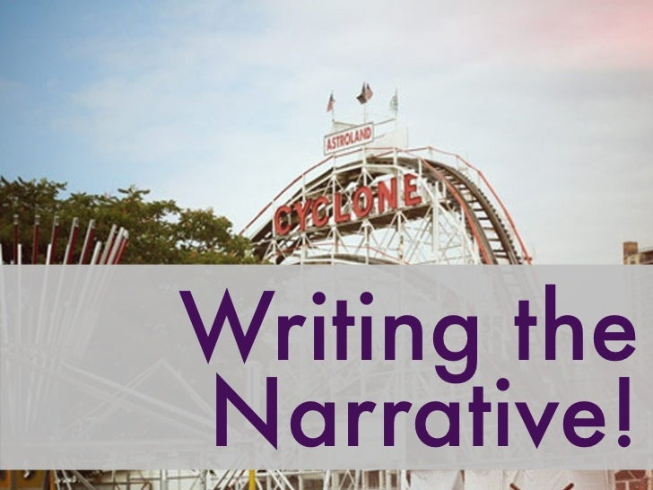 H2 Pointers on Writing a Narrative