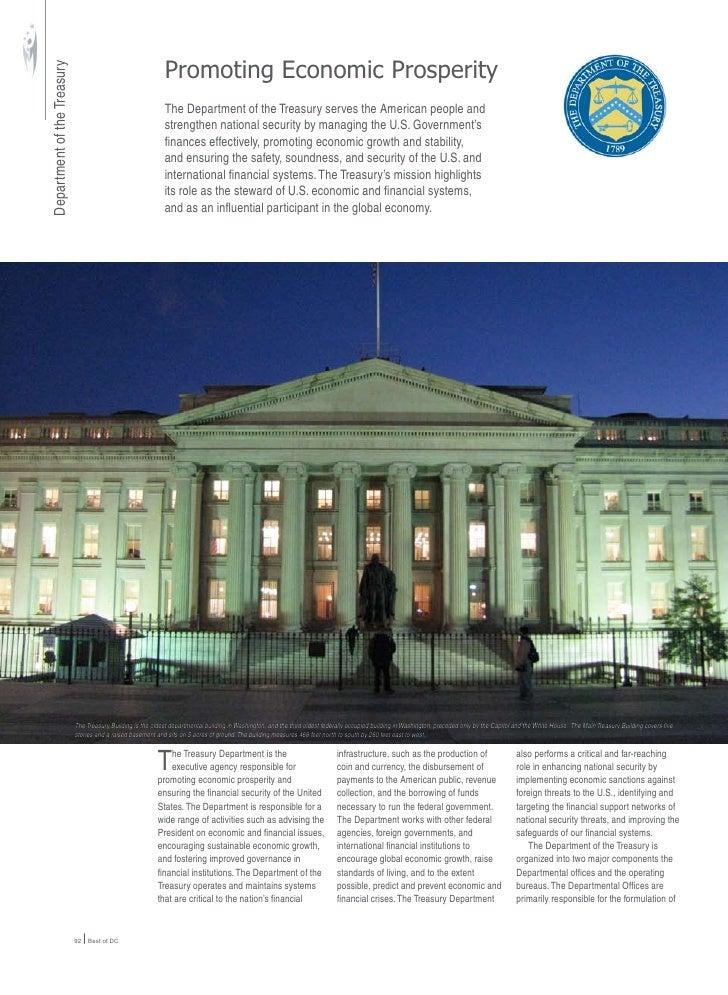 Promoting Economic Prosperity Department of the Treasury                                                                 T...
