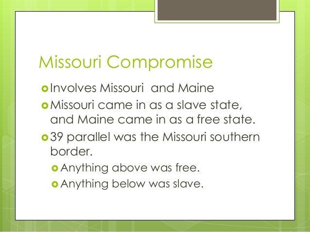 Missouri Compromise Essay