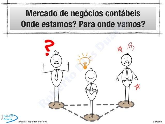© Roberto Dias Duarte Mercado de negócios contábeis Onde estamos? Para onde vamos? Imagens: depositphotos.com