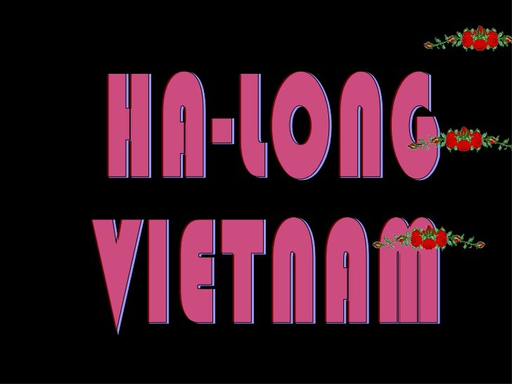 Ha long (vietnam) e.c.m.) ====