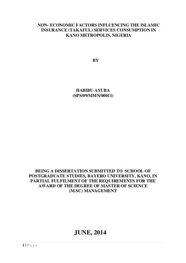 Takaful vs insurance argument essay