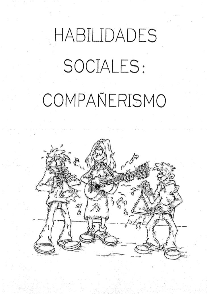 Habilidades sociales compañerismo