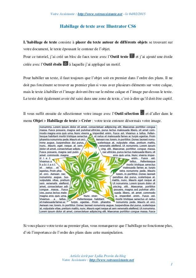 Votre Assistante : http://www.votreassistante.net - le 04/02/2015 Article écrit par Lydia Provin du blog Votre Assistante ...