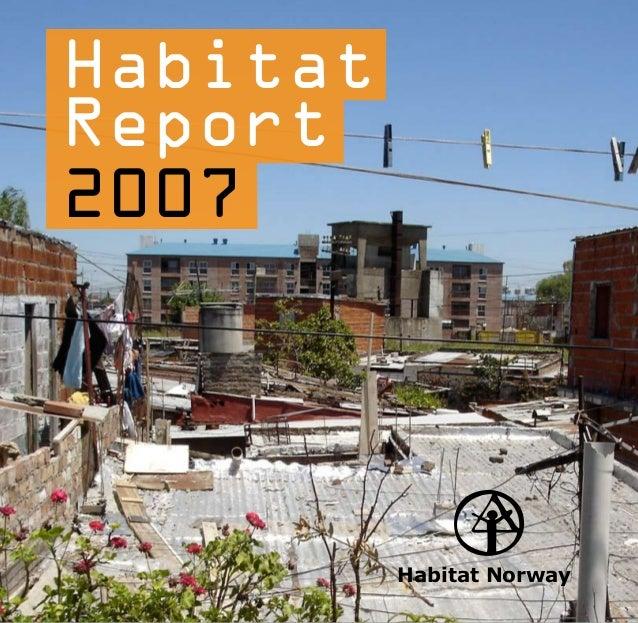 HabitatReport2007          Habitat Norway