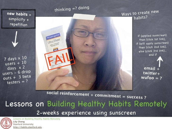 Lessons on Building Healthy Habits Remotely